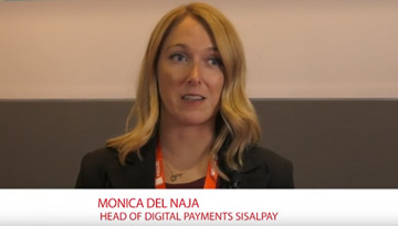SISALPAY GUEST AT SMAU 2018. Interview to Monica Del Naja, Head of Digital Payments SisalPay.