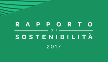 2017 SUSTAINABILITY REPORT. Online version, available only in Italian.