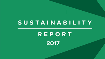 2017 SUSTAINABILITY REPORT. Online version available.